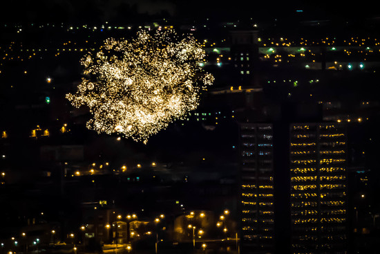 New Years Eve Fireworks by jyokota