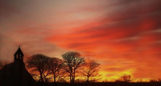 January Sunrise by jesperani