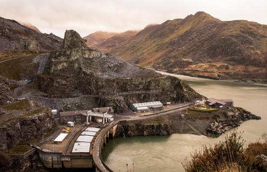 Llanberis slate quarry by blueace