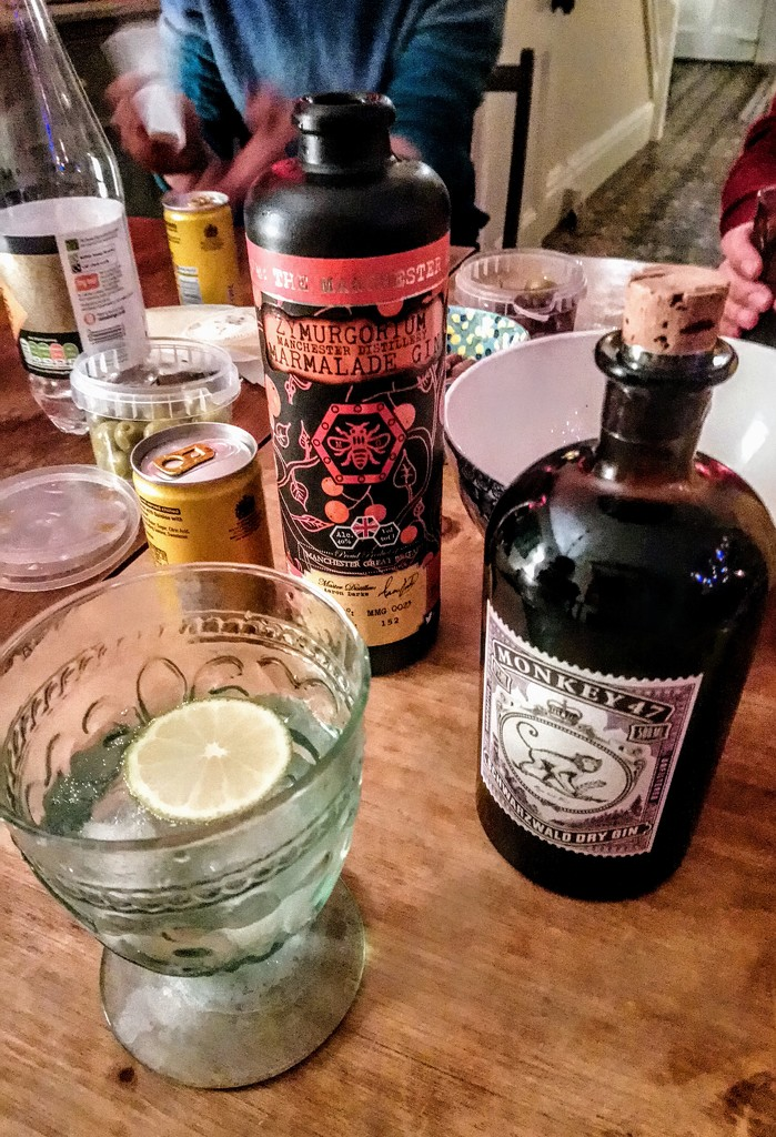 A selection of gins by boxplayer