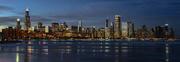 2nd Jan 2018 - Chicago Skyline Panorama - iphone version