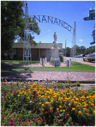4th Jan 2018 - The war memorial Nanango Queensland