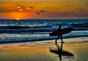3rd Jan 2018 - Sundown Surf