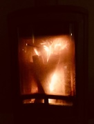 4th Jan 2018 - The Wood stove is burning