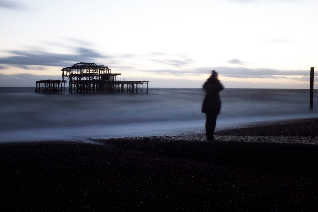 The old Brighton pier by ducasrouge