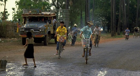 80 Songkran in Vientiane, Laos by travel