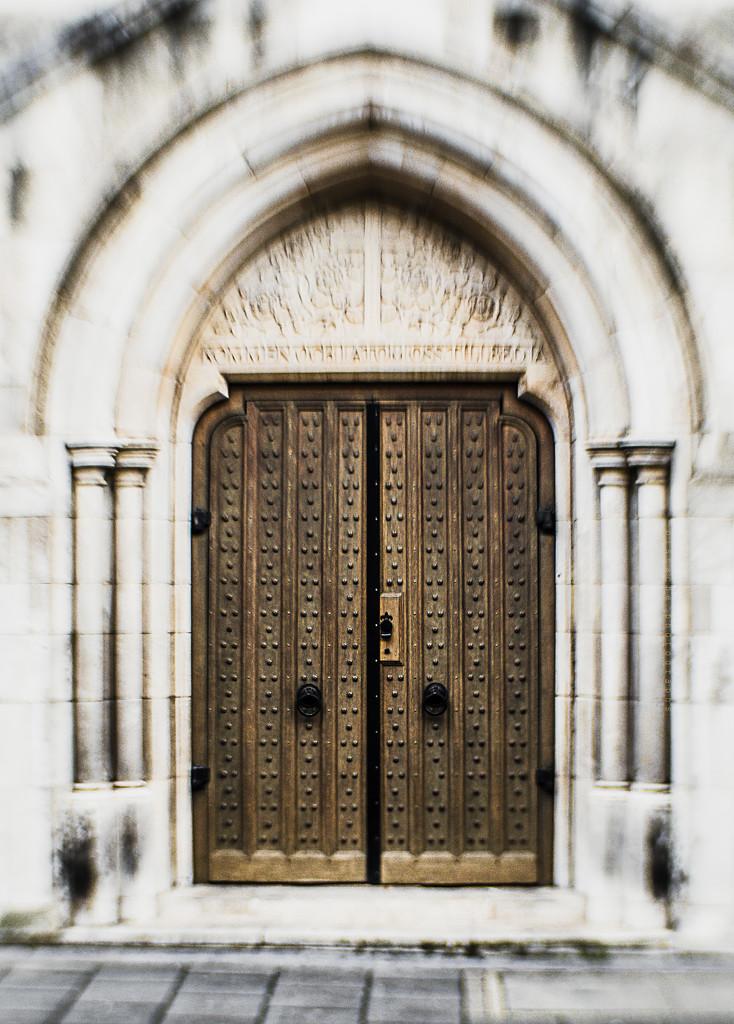 swedish church door by pistache