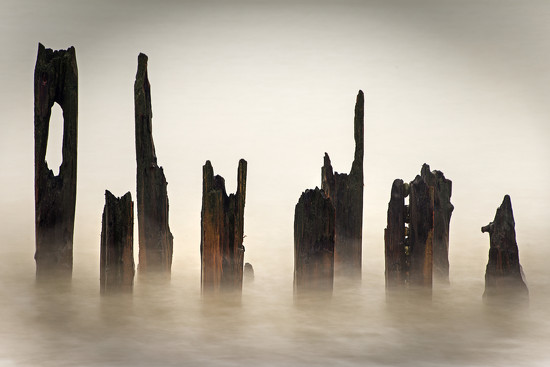 Groynes by megpicatilly