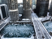 6th Jan 2018 - Marina City from Our Hotel Room