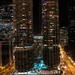 Marina City with Holiday Lights