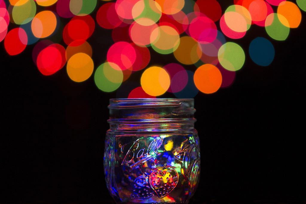 Mason Jar Bokeh by gaylewood