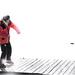 Self Potrait: Skipping Rocks on Frozen Lake