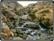 9th Jan 2018 - A Stream Tumbling through The Rocks