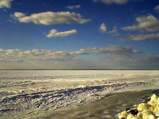 Chappy Beach Ice by sailingmusic
