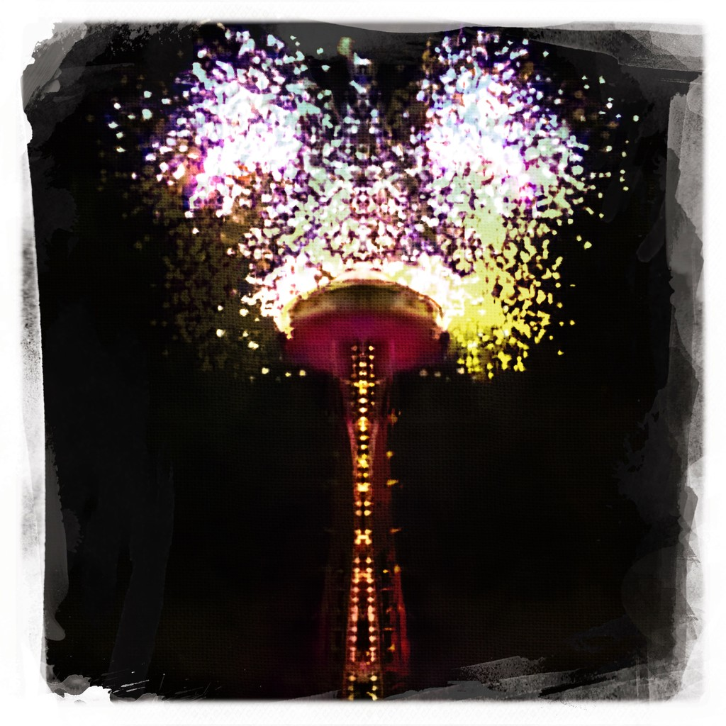 Happy New Year 2018 by seattle