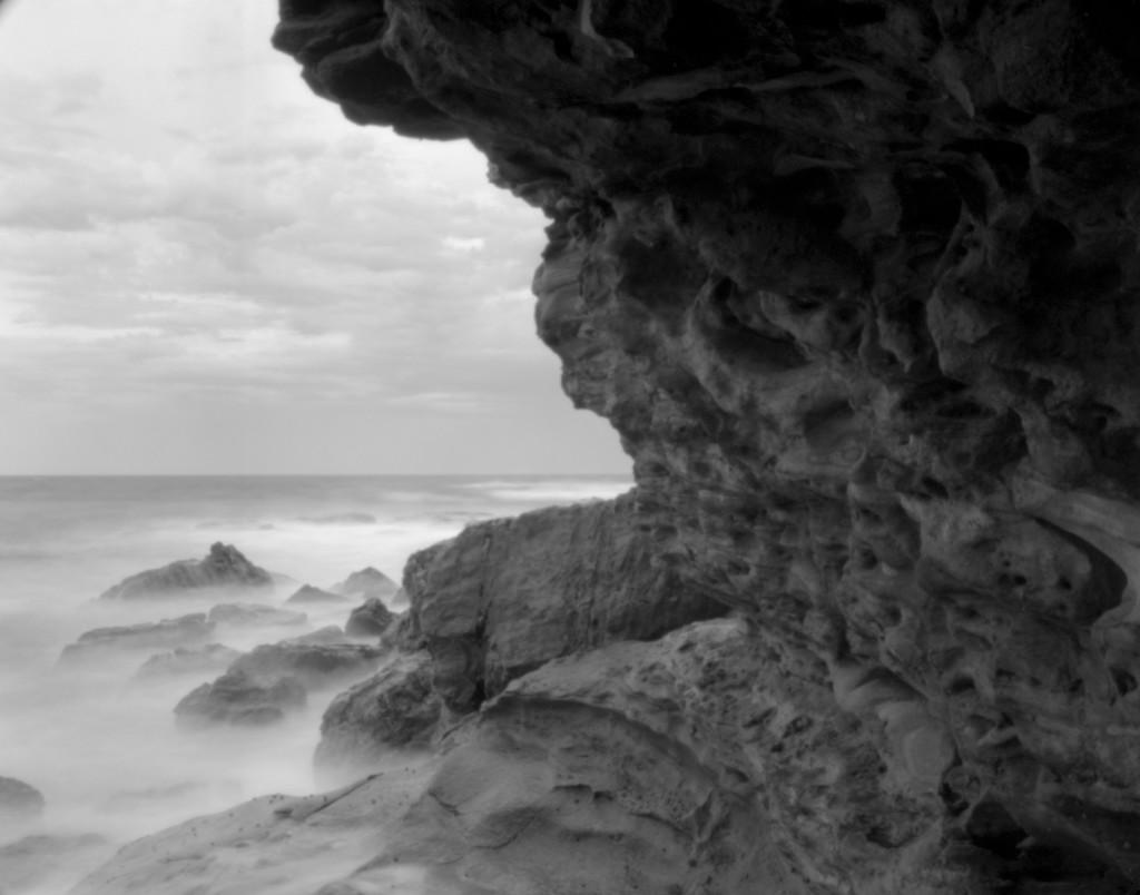 Under cliff by peterdegraaff
