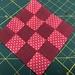 Todays' patchwork block- 365 quilt challenge