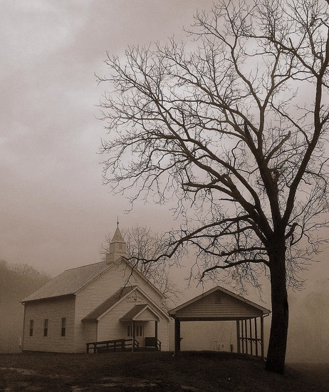 The Country Church by calm
