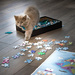 When Cats Build Puzzles