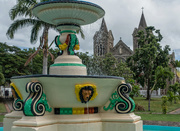 11th Jan 2018 - 008 - Fountain & Cathedral, St Kitts