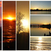 Collage: My favourite sunsets and sunrises
