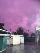 12th Jan 2018 - Purple sky