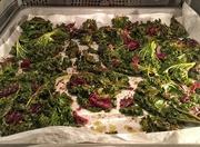 10th Jan 2018 - Kale chips.