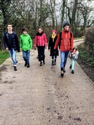 13th Jan 2018 - Circular walk via East Pennard