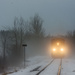 Ghostly Train by farmreporter