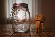 15th Jan 2018 - Mason Jar Candle Lantern