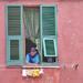 Man in a window by brigette
