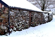 16th Jan 2018 - shed and snow