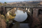 16th Jan 2018 - Céret - two bridges and one reflection