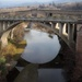 Céret - two bridges and one reflection