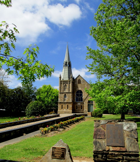 Lutheran Church Hahndorf  Adelaide Hills by 777margo