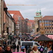 Crowded streets in Nürnberg