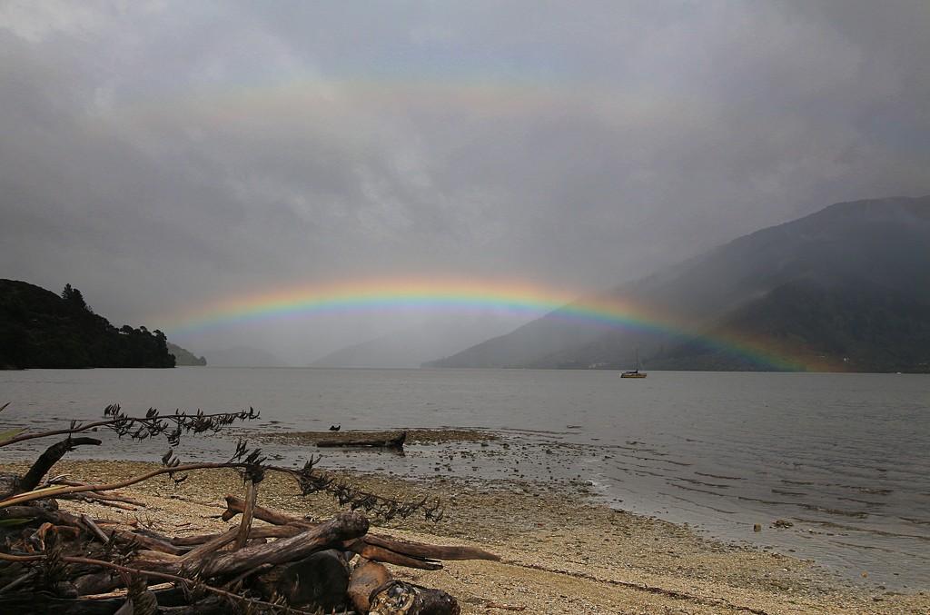 Double rainbows by kiwinanna