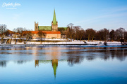 18th Jan 2018 - Winter at Nidelven( river Nid ) and Nidaros Cathedral