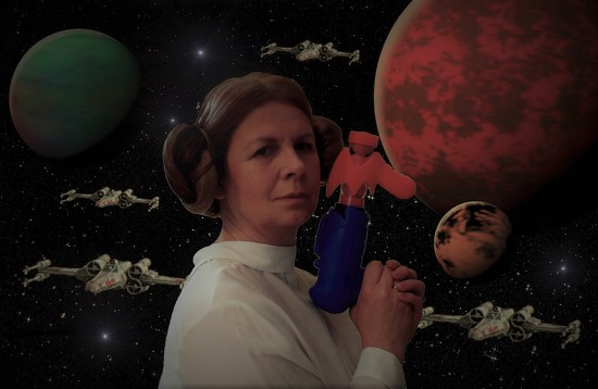 When I grow up I want to be Princess Leia by suzanne234