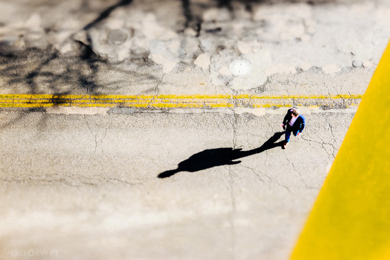 Experimenting for Get Pushed: tilt shift by vera365