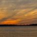 Sunset over the Ashley River, Charleston, SC