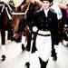 Mr. Cubelles and his fellow Horsewoman