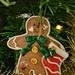 Gingerbread hearts man.