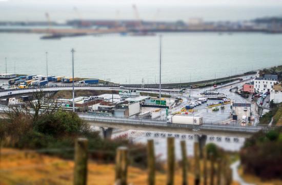 Dover Docks - Tilt shift by fbailey
