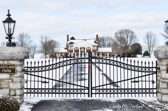 Snow Covered Entrance by cindymc