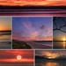 Late sunrise and sunset