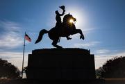 20th Jan 2018 - Andrew Jackson Silhouette