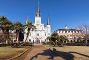 20th Jan 2018 - Andrew Jackson Shadow Riding to St Louis Cathedral