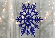 20th Jan 2018 - Snowflake Bokeh