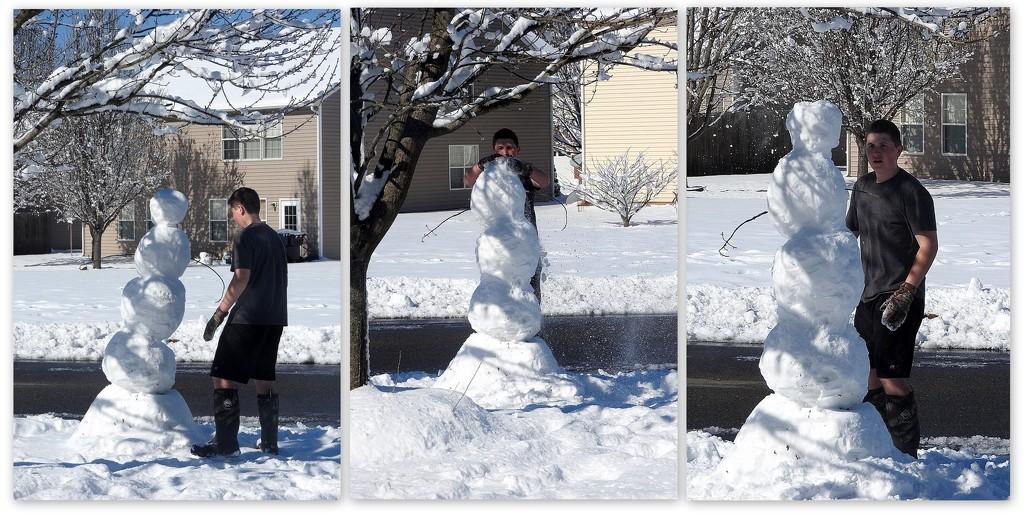 Snowman repair by homeschoolmom